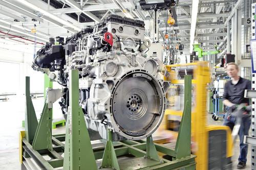 Verlagerung Motorenfertigung